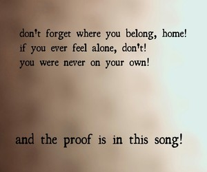 the proof is in this song image