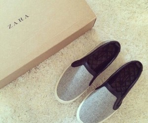 shoes, grey, and Zara image