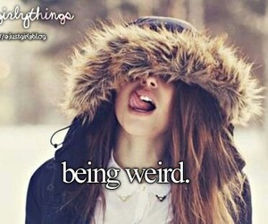 weird, just girly things, and justgirlythings image