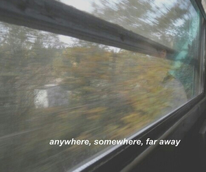 anywhere, far away, and grunge image