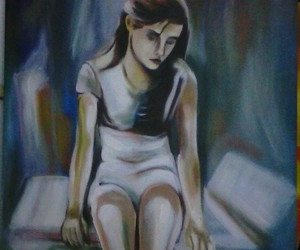 acrylic, painting, and art image