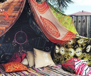 boho, hippie, and indie image