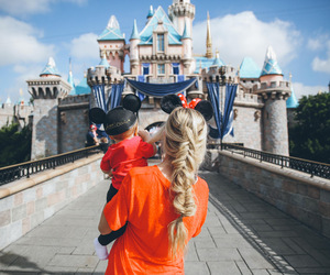 baby, disneyland, and cute image