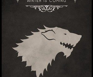 game of thrones, stark, and house stark image