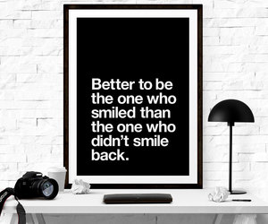 quotes and smile image