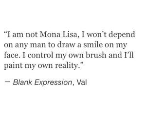 quote, smile, and mona lisa image