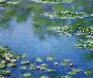 art, lilies, and famous image