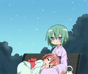 lol, cute, and lucky star image