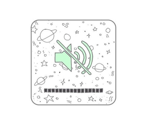 green, stars, and cute image