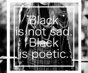 d4025009526 38 images about Black is such a happy color. on We Heart It | See ...