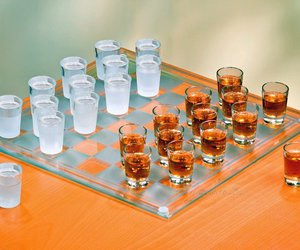 checkers, chess, and Shots image
