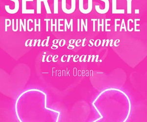 quote, heart, and ice cream image