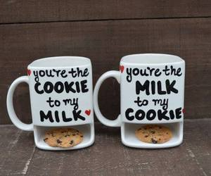 milk, love, and cup image