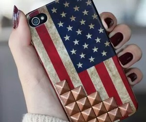 iphone, usa, and case image