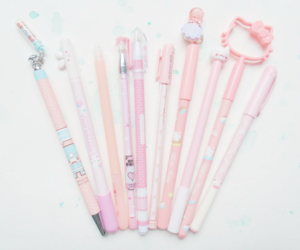 hello kitty, kawaii, and pastel image