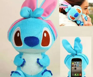 case, stitch, and iphone image