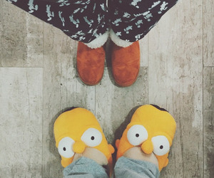 shoes and simpsons image