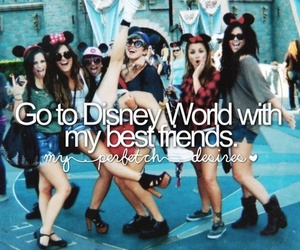 friends, disney, and disney world image