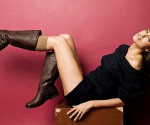 boots, legs, and irina shayk image