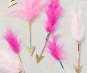 arrows, luxury, and pink image