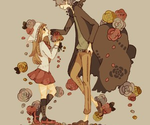 art, kawaii, and rose image