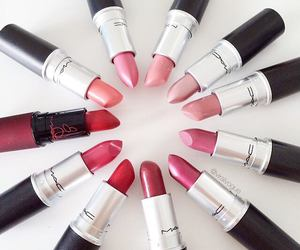 lipstick, mac, and beauty image