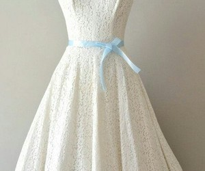 dress, pretty dress, and ivory image
