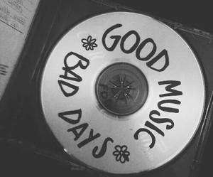 music, bad days, and grunge image