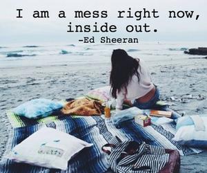 calm, inside, and Lyrics image