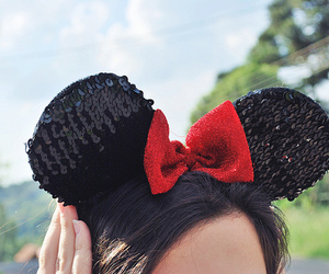 cute, disney, and mickey image
