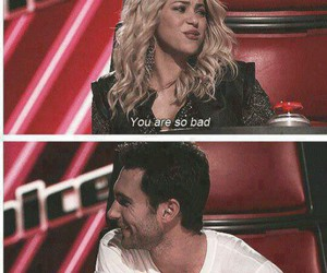 maroon 5, shakira, and the voice image