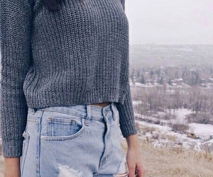 sweater and sweater weather image