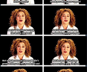 doctor who and alex kingston image