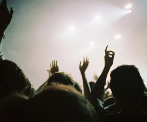 indie, hipster, and concert image