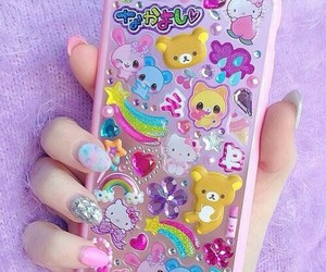 kawaii, pastel, and pink image