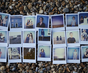photography and polaroid image