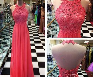 dress, prom dress, and Prom image