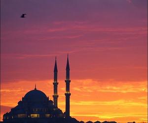 istanbul, sunset, and turkey image