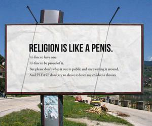 funny, joke, and religion image
