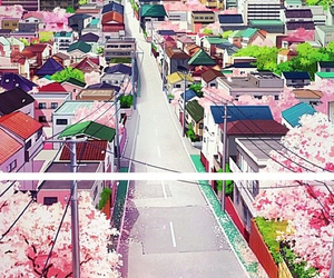 shigatsu wa kimi no uso, anime, and scenery image