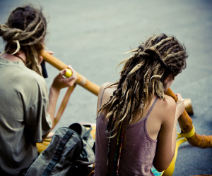 dreads, dreadlocks, and music image
