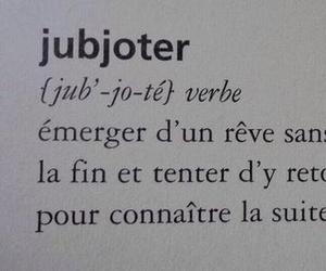 jubjoter, Dream, and french image
