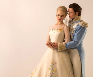 cinderella, disney, and dress image