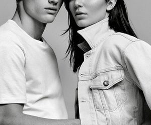 kendall jenner, Calvin Klein, and model image