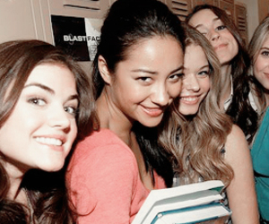lucy hale, ashley benson, and shay mitchell image