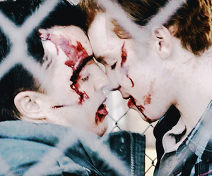 couple, cameron monaghan, and mickey milkovich image