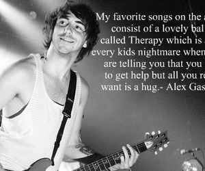alex gaskarth and therapy image
