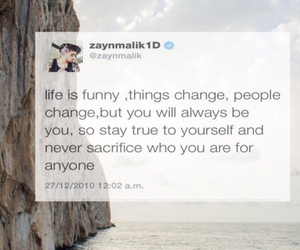 quote, 1d, and zayn malik image