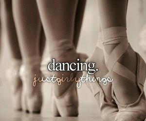 ballet, dancing, and girl image