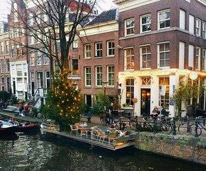 amsterdam and light image
